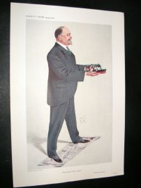 Vanity Fair Print 1910 Marshall Stephens
